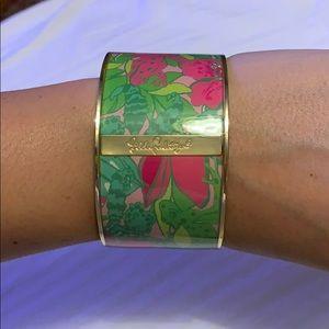 Lilly Pulitzer arm bangle cuff